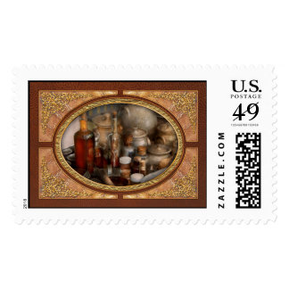 Chef - First class ingredients Postage Stamps