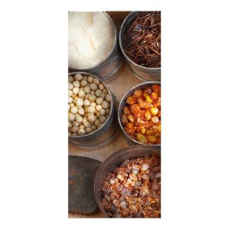 Chef - Food - Health food Rack Card