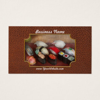 Chef - Food - Oh, I had sushi last night Business Card
