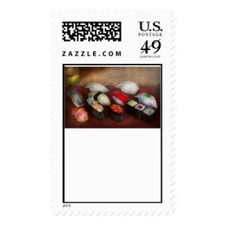 Chef - Food - Oh, I had sushi last night Postage Stamp
