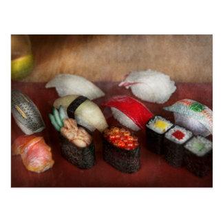 Chef - Food - Oh, I had sushi last night Postcard