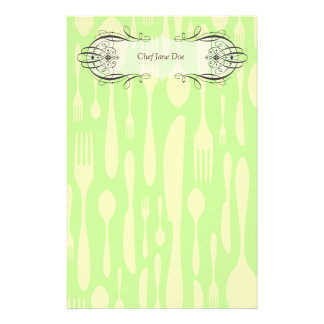 Chef & Foodie's Doodle Stationery