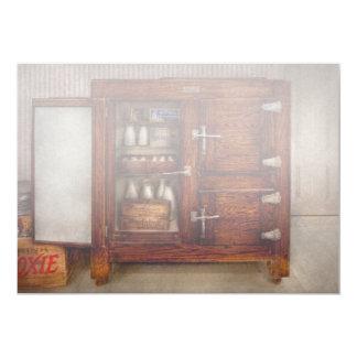 Chef - Fridge - The ice chest 5x7 Paper Invitation Card