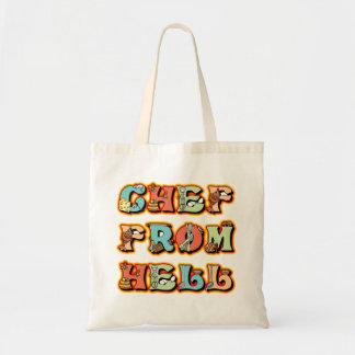 Chef from Hell Canvas Bag