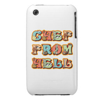 Chef from Hell iPhone 3 Cover