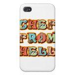 Chef from Hell iPhone 4/4S Cases