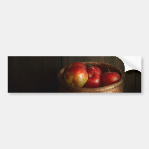 Chef - Fruit - Apples Bumper Stickers