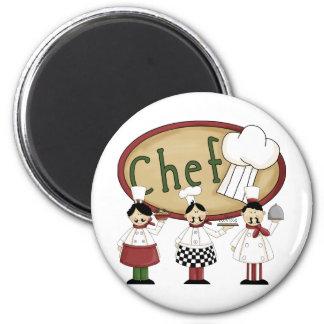 Chef Gift 2 Inch Round Magnet