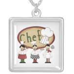 Chef Gift Custom Necklace