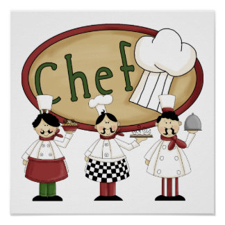 Chef Gift Poster