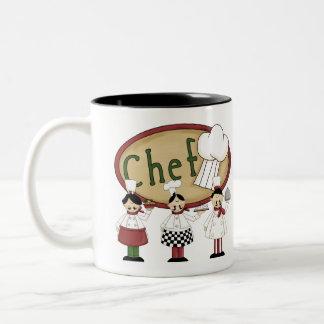Chef Gift Two-Tone Coffee Mug