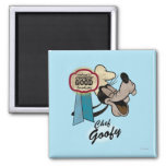 Chef Goofy 2 Inch Square Magnet