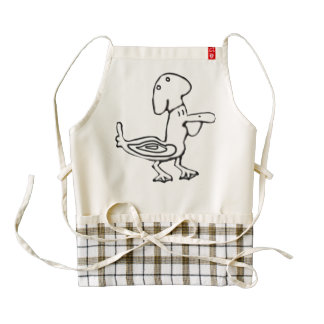 Chef Gordon Pelican Zazzle HEART Apron