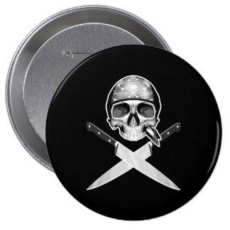 Chef Half Skull Knives v2 Pins