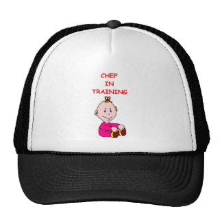 CHEF TRUCKER HATS