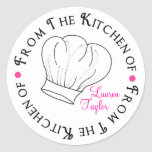 Chef Hat  Baking Cooking Kitchen Stickers