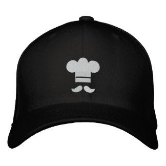 Chef Hat Embroidered Cap Embroidered Hats