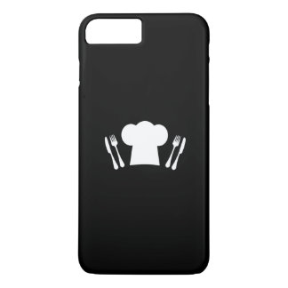 Chef Hat Knife and Fork Kitchen or Restaurant iPhone 8 Plus/7 Plus Case