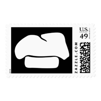 chef hat silhouette postage