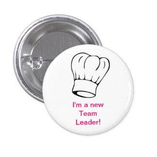 Chef Hat - Team Leader Pinback Button