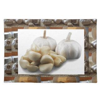Chef Healthy Eating Cuisine Art Garlic Seasoning Cloth Placemat