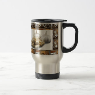 Chef Healthy Eating Cuisine Art Garlic Seasoning Travel Mug