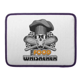 Chef Humor: Food Whiskerer v3 MacBook Pro Sleeve