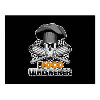 Chef Humor: Food Whiskerer v3 Postcard