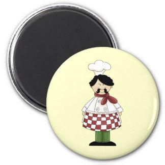 Chef I 2 Inch Round Magnet