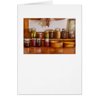 Chef - I love preserving things Greeting Card