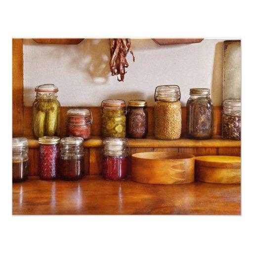 Chef - I love preserving things Custom Invites
