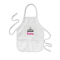 CHEF In Training Personalize With Name Kids' Apron