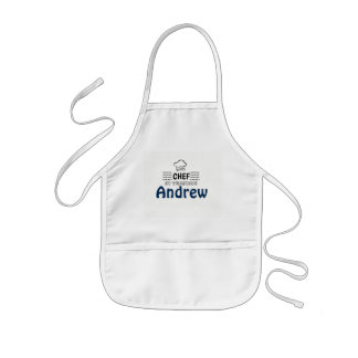 CHEF In Training Personalized Kids' Apron