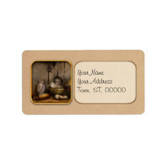 Chef - Ingredients - Breakfast and grandpa's Personalized Address Labels