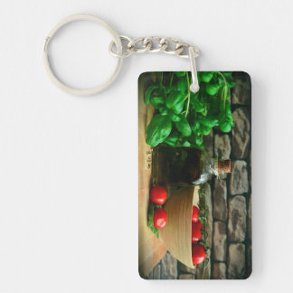 Chef Ingredients Keychain