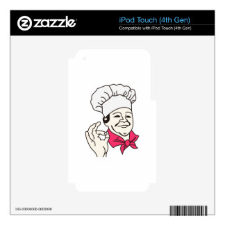 Chef iPod Touch 4G Skin