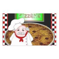 Chef Italiano Rectangle Sticker