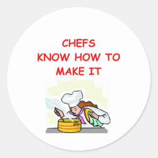 CHEF joke Sticker