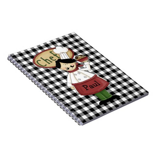 Chef Journal Notebook