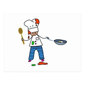 Chef Kid Postcard