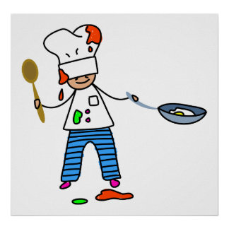 Chef Kid Poster
