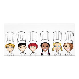 Chef Kids Flyer Rack Card