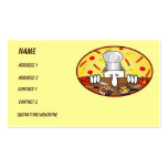 Chef Kilroy Business Card
