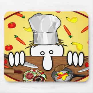 Chef Kilroy Mousepad