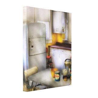 Chef - Kitchen - A 1960's Kitchen Gallery Wrap Canvas