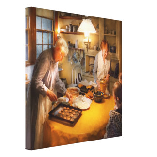 Chef - Kitchen - Coming home for the holidays Stretched Canvas Prints