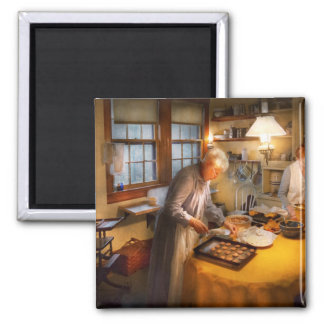 Chef - Kitchen - Coming home for the holidays Fridge Magnet