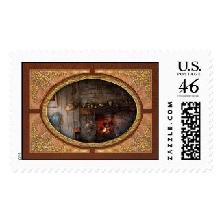Chef - Kitchen - Home for the holidays Postage