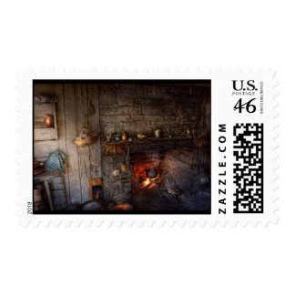 Chef - Kitchen - Home for the holidays Postage Stamp