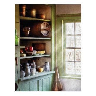 Chef - Kitchen Necessities Postcard